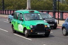 Táxi de táxi de Londres Imagem de Stock