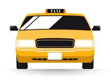 Táxi de táxi do amarelo de New York ilustração stock