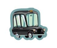 Táxi de táxi velho de Londres Fotografia de Stock
