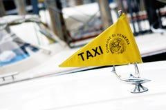 Táxi de Venezia Fotos de Stock