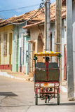 Táxi do bici de Trinidad Imagem de Stock Royalty Free