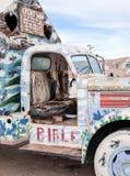 Táxi do caminhão pintado imagem de stock royalty free