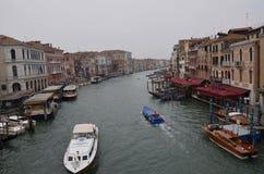 Táxi do rio em Veneza!! Imagens de Stock