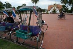Táxi do triciclo. Foto de Stock Royalty Free