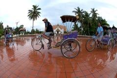 Táxi do triciclo. Fotos de Stock Royalty Free