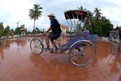 Táxi do triciclo. Imagens de Stock