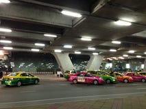 Táxi em Banguecoque, Tailândia Fotos de Stock