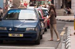 Táxi malaio Foto de Stock