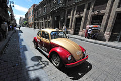 Táxi mexicano foto de stock