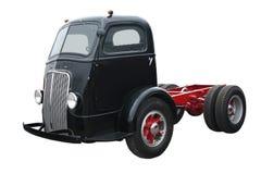 Táxi preto velho sobre Fotos de Stock Royalty Free