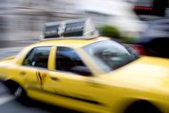Táxi rápido Foto de Stock Royalty Free