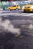 Táxi New York royalty free stock photography