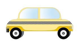 Táxi, vetor do táxi Foto de Stock Royalty Free