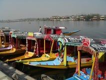 Táxis da água de Kashmir Fotos de Stock
