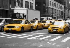 Táxis de New York Imagens de Stock