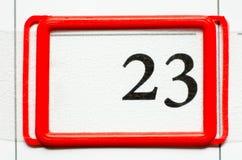 Tâmara de calendário Fotos de Stock