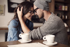 Tâmara romântica imagem de stock
