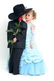 Tâmara romântica imagem de stock royalty free