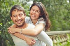 Tâmaras afectuosas Imagens de Stock Royalty Free