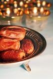 Tâmaras de Ramadan imagem de stock