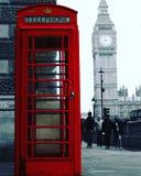 Téléphone London, UK Royaltyfri Bild