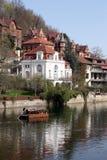 Tübingen in spring Stock Image