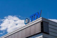 TÃœV Niemcy - Techniczny Wizytacyjny skojarzenie zdjęcie stock