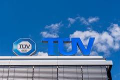 TÃœV Niemcy - Techniczny Wizytacyjny skojarzenie fotografia stock