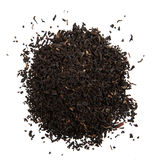 Tè在foglie的nero essicato 库存图片