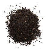 Tè nero essicato w foglie Obraz Stock