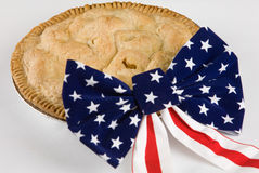 Tão americano quanto a torta de Apple Fotos de Stock