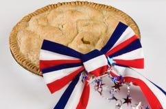 Tão americano quanto a torta de Apple Fotografia de Stock Royalty Free