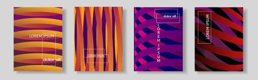 Täcka designen Kyla formlutningar med skuggorna Royaltyfria Foton