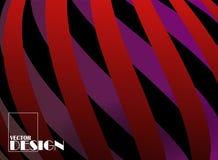 Täcka designen Kyla formlutningar med skuggorna Royaltyfri Bild