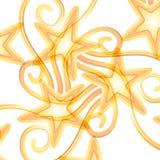 täckande modellskyttestjärnor stock illustrationer