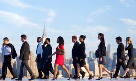 Tägliche Pendler von New York lizenzfreie stockfotografie