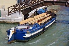 Täglicher Transport in Venedig Lizenzfreies Stockbild