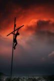 Tägliches Kreuz Stockfoto