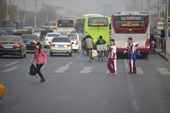 Tägliches lebens- Peking, China Stockfotos