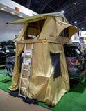 Tält för biltaköverkant Royaltyfria Bilder