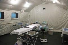 Tält för fältsjukhus Royaltyfria Bilder