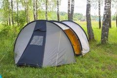 Tält för turister Arkivfoto