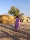 Tält i Afrika Royaltyfri Fotografi