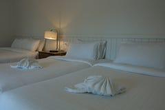 Tända i sovrummet Royaltyfri Fotografi
