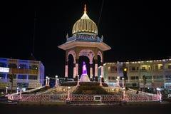 Tända på Mysore Royaltyfri Bild