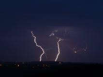 Tända stormen Royaltyfria Bilder