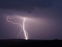 Tända stormen Royaltyfria Foton