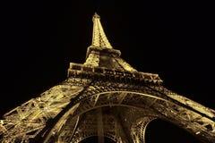 Tända världen av Paris royaltyfri fotografi