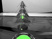 tänder defocused exponeringsglas för argbbakgrundsjul treen royaltyfri illustrationer