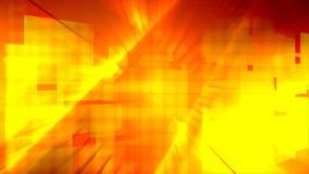 Tänder orange strålar för kvarterdesign stock illustrationer